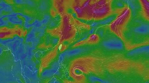 寒流,冷氣團,元旦,跨年,濕冷,颱風,低溫,下雨,氣溫,高雄,屏東,各地氣溫,