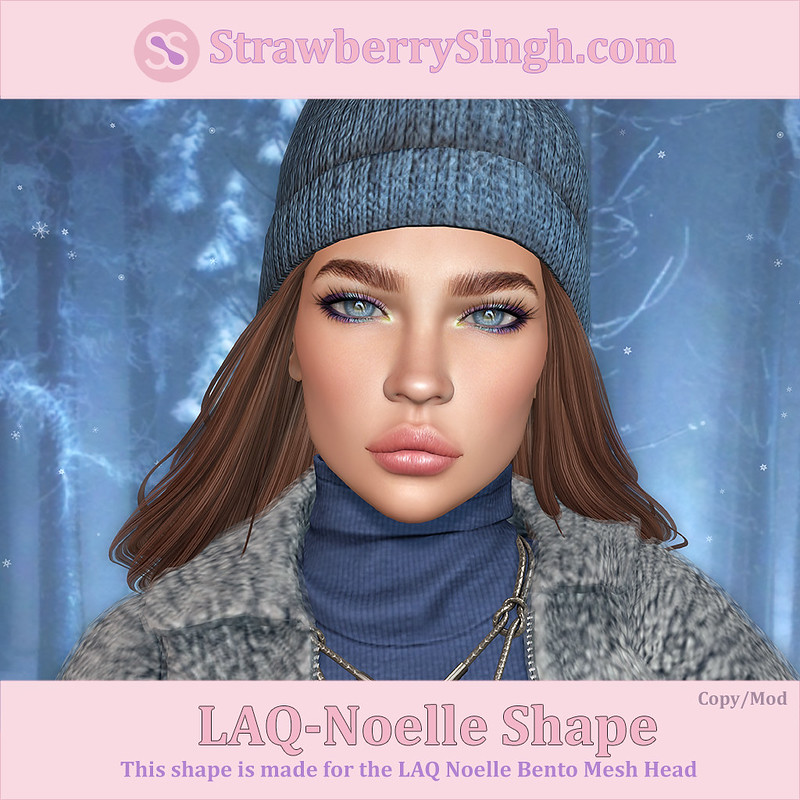 StrawberrySingh.com Laq-Noelle Shape