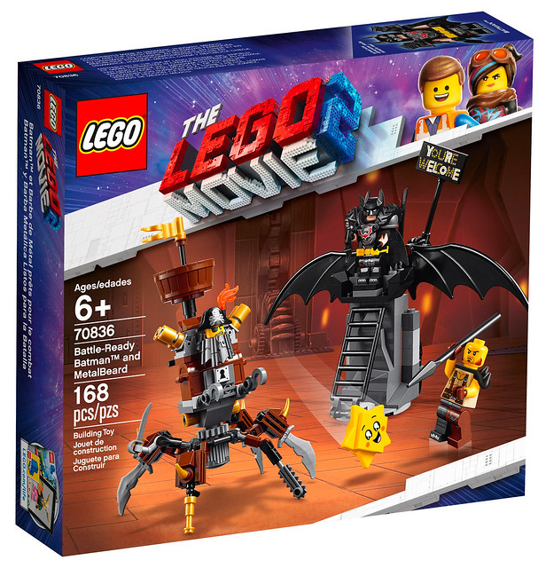 LEGO Movie 2 70836 Battle ready Batman and MetalBeard 01