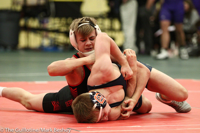 113 - Jake Rundell (Oak Park River Forest) over Paxton Creese (Shakopee) Dec 11-6 - 180105emk0020