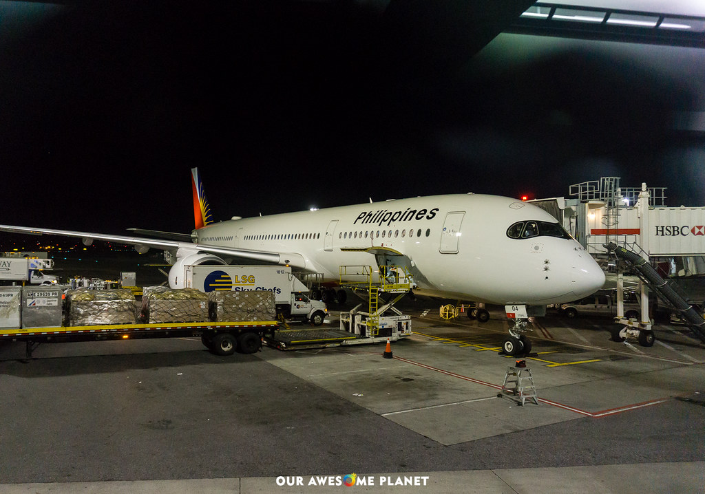Manila to New York @FlyPAL
