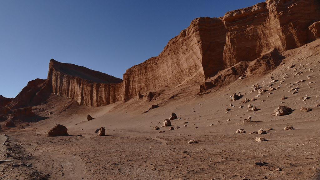 Amphitheatre in der Atacama Wüste