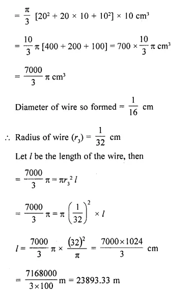 RD Sharma Class 10 Solutions Chapter 14 Surface Areas and Volumes Ex 14.3 pqa