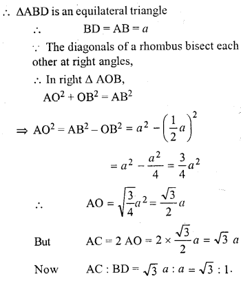 ML Aggarwal Class 9 Solutions for ICSE Maths Chapter 13 Rectilinear Figures  ex 23A