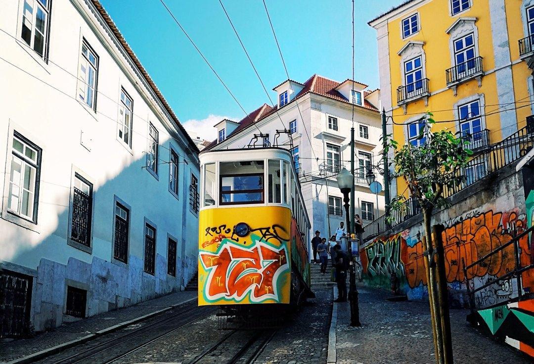 Ascensor da Glória, Lisbon