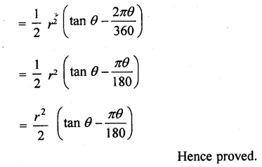 RD Sharma Class 10 Solutions Chapter 13 Areas Related to Circles Ex 13.2 - 26aa.