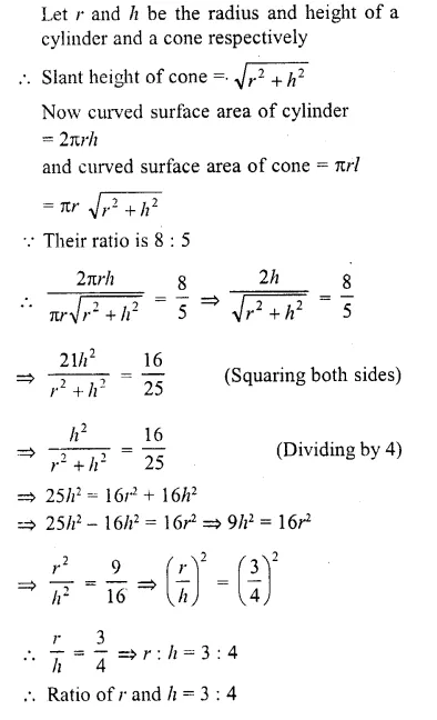 RD Sharma Class 10 Solutions Chapter 14 Surface Areas and Volumes  RV 33