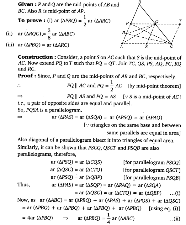 NCERT Solutions for Class 9 Maths Chapter 9 Area of parallelograms and Triangles 47