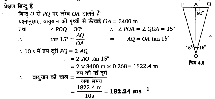 UP Board Solutions for Class 11 Physics Chapter 4 Motion in a plane ( समतल में गति) 25