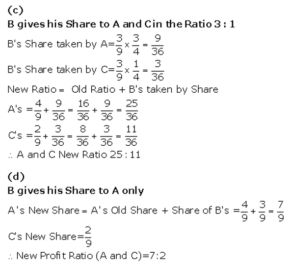 TS Grewal Accountancy Class 12 Solutions Chapter 5 Retirement Death of a Partner Q16.2