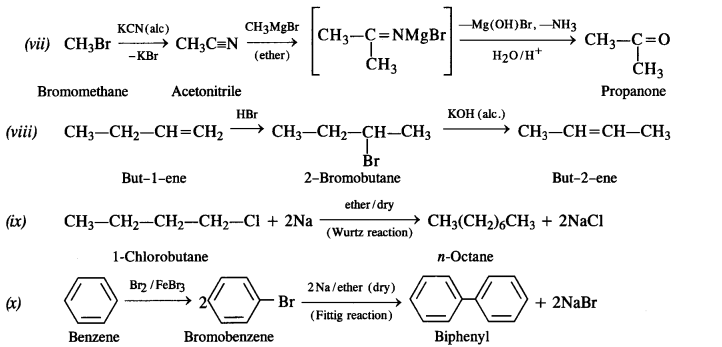 NCERT Solutions for Class 12 Chemistry Chapter 11 Alcohols, Phenols and Ehers e 11A