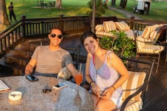 ....met Facu en Carina, twee Argentijnse wereldreizigers.