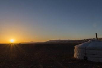 De volgende ochtend weer vroeg uit de veren voor de zonsopkomst en....