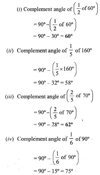 Selina Concise Mathematics Class 6 ICSE Solutions - Angles (With their Types) -b3s