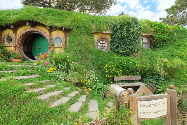 House of Bilbo Baggins as filmed in New Zealand.