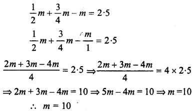 Selina Concise Mathematics class 7 ICSE Solutions - Simple Linear Equations (Including Word Problems) -c8..