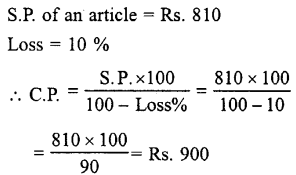 Selina Concise Mathematics class 7 ICSE Solutions - Profit, Loss and Discount-b2