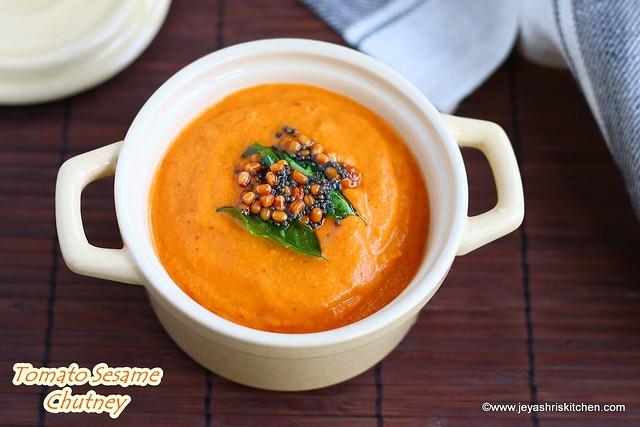 Tomato Sesame Chutney