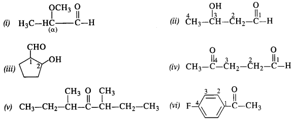 NCERT Solutions for Class 12 Chemistry Chapter 12 Aldehydes, Ketones and Carboxylic Acids te1