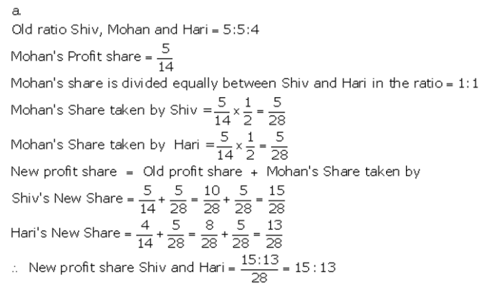 TS Grewal Accountancy Class 12 Solutions Chapter 5 Retirement Death of a Partner Q3