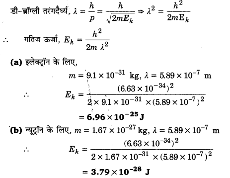 UP Board Solutions for Class 12 Physics Chapter 11 Dual Nature of Radiation and Matter 14a