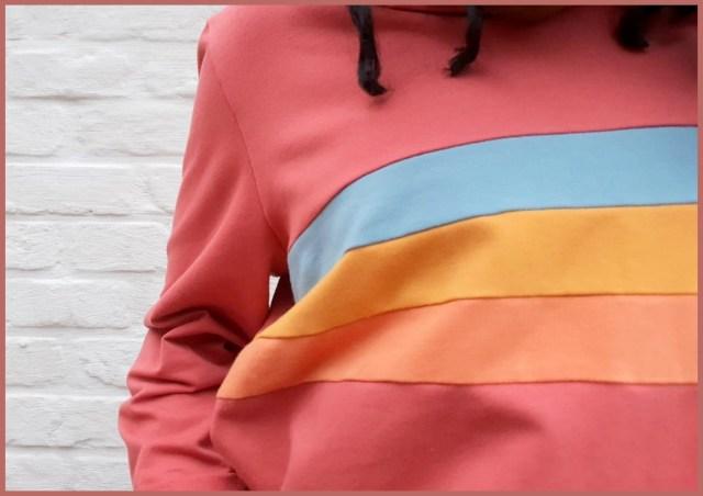 rainbow hoodie 1