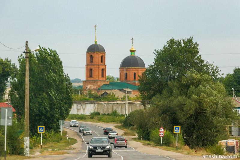 Церковь Спаса Преображения в Забродах, Воронежская область