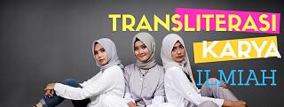 pedoman transliterasi huruf hijaiyah karya ilmiah