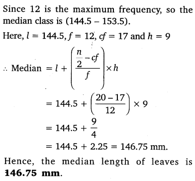 NCERT Solutions for Class 10 Maths Chapter 14 Statistics 47