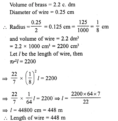 RD Sharma Class 10 Solutions Chapter 14 Surface Areas and Volumes Ex 14.1 4