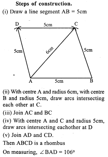 ML Aggarwal Class 9 Solutions for ICSE Maths Chapter 13 Rectilinear Figures  ex 2  18