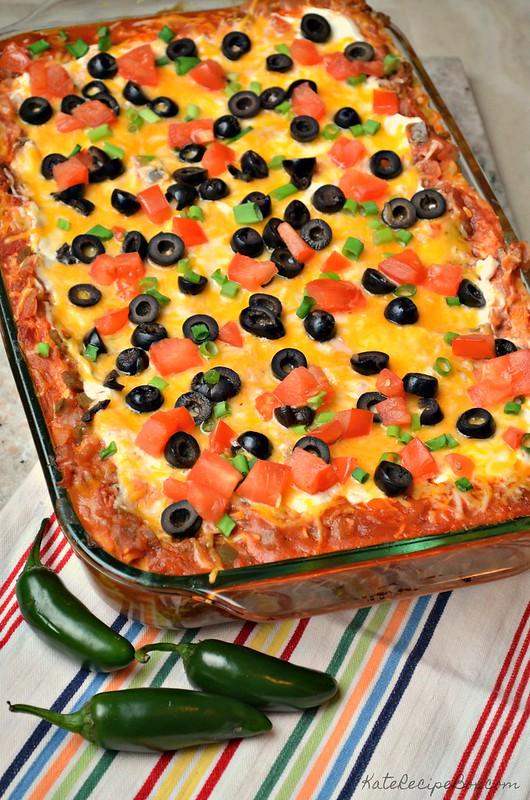 Mexican Lasagna 1