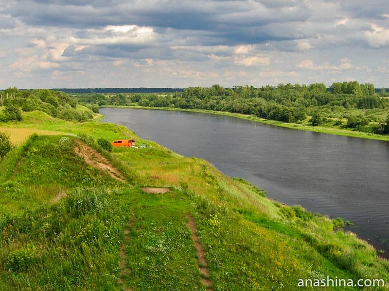 Урочище Сопки и река Волхов