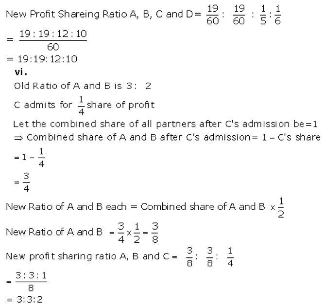 TS Grewal Accountancy Class 12 Solutions Chapter 4 Admission of a Partner Q9.5