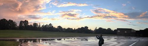 Carelton Place sunset Panorama