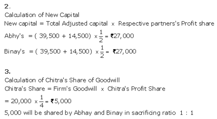 TS Grewal Accountancy Class 12 Solutions Chapter 4 Admission of a Partner Q85.2