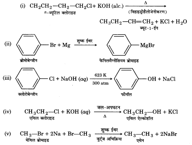 UP Board Solutions for Class 12 Chapter 10 Haloalkanes and Haloarenes 2Q.22.1