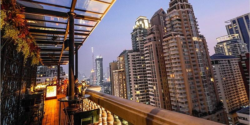 泰國曼谷高空酒吧   The Speakeasy Rooftop Bar (Chit Lom站)-位在Hotel Muse擁有歐式復古風格的高空酒吧!