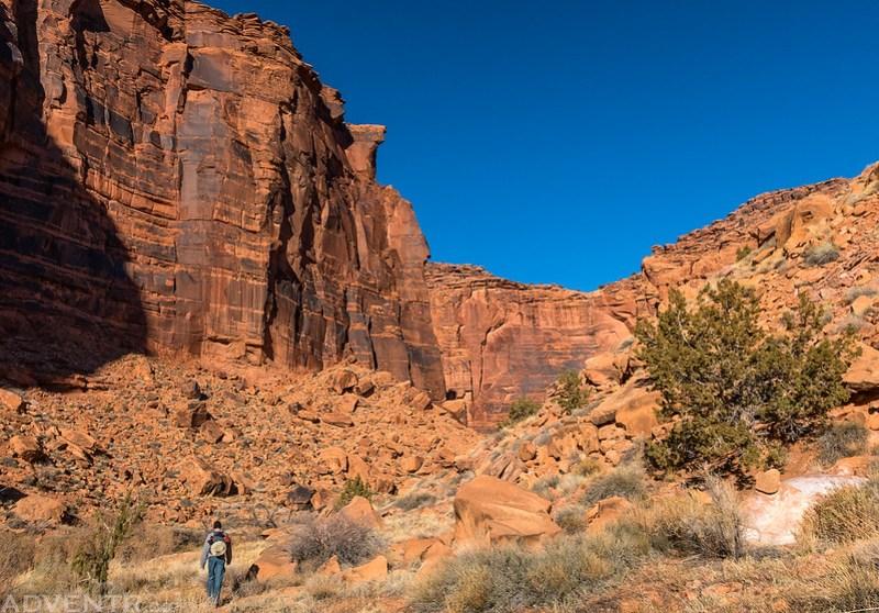 Tall Canyon Walls