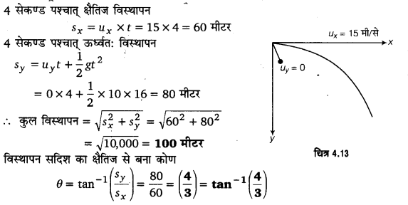 UP Board Solutions for Class 11 Physics Chapter 4 Motion in a plane ( समतल में गति) l9
