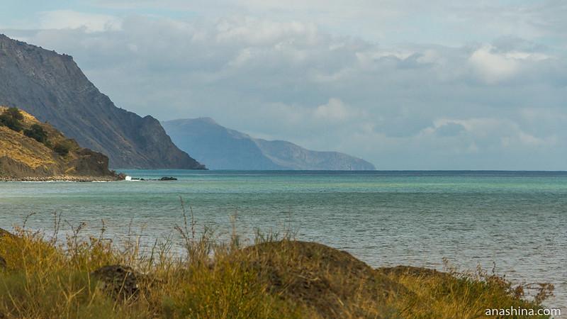 Панорама в сторону мыса Ай-Фока, Крым