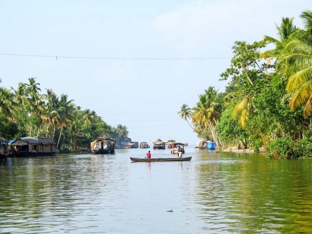 Excursión por las backwaters de Kerala