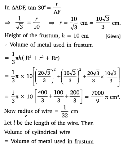 NCERT Solutions for Class 10 Maths Chapter 13 Surface Areas and Volumes 43