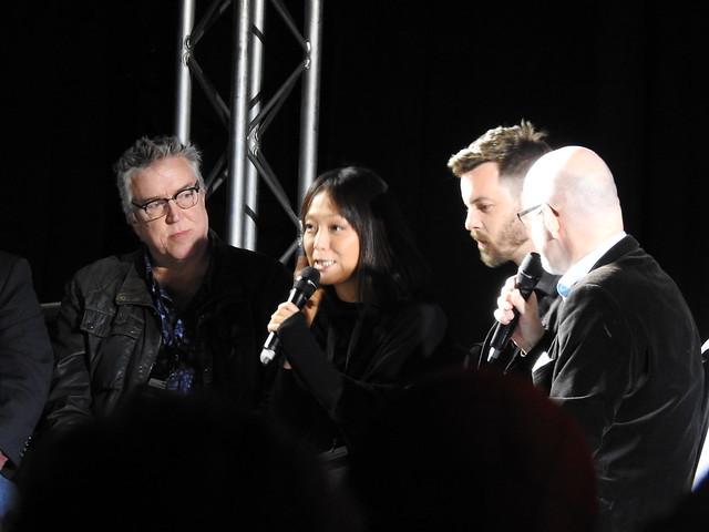 Firestorm panel - MCM Comic Con - Sam Payne Picture 6