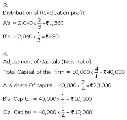 TS Grewal Accountancy Class 12 Solutions Chapter 4 Admission of a Partner Q80.3