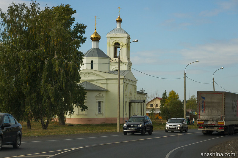 Церковь Казанской иконы Божией Матери в селе Подгорное, Пензенская область