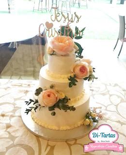tarta boda flores naturales copia