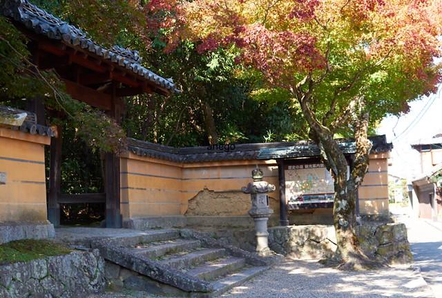 秋篠寺 土塀