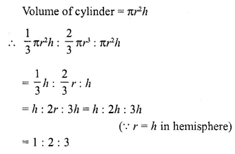 RD Sharma Class 10 Solutions Chapter 14 Surface Areas and Volumes  VSAQS 4