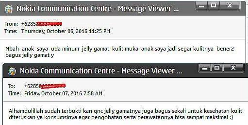 QnC Jelly Gamat untuk kesehatan kulit
